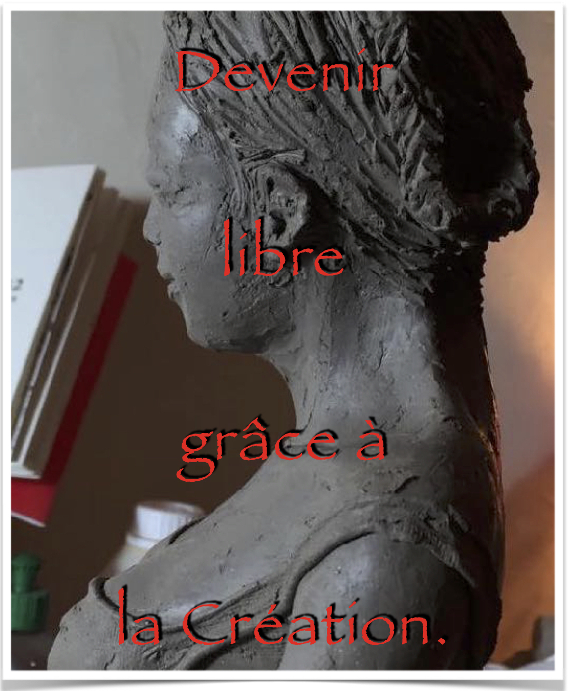 couverture ebook devenir libre grace à la création